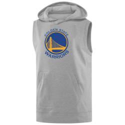 NBA - NBA - Golden State Gri Sleeveless Hoodie