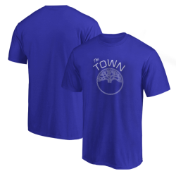 NBA - Sports - Golden State Mavi T-shirt