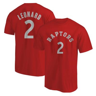 NBA - Kawhi Leonard Kırmızı T-shirt