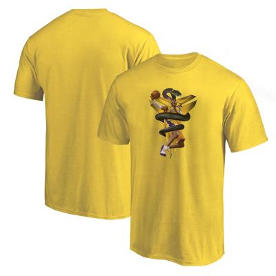 NBA - Kobe Bryant Sarı T-shirt