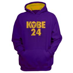NBA - NBA - Kobe 24 Mor Cepli Hoodie