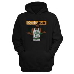 Sports - Kyrie Hub Siyah Cepli Hoodie - Thumbnail