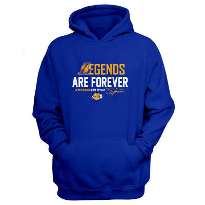 NBA - L.A. Lakers Legends Are Forever Mavi Cepli Hoodie