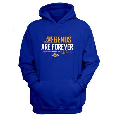 Sports - L.A. Lakers Legends Are Forever Mavi Cepli Hoodie
