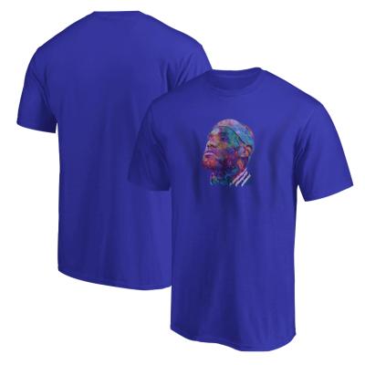 Sports - Lebron James Portre Mavi T-shirt