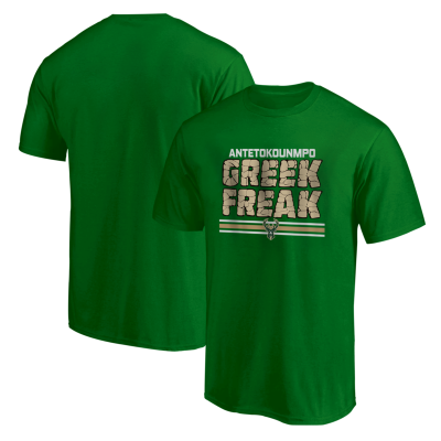 NBA - Milwaukee Greek Freak Yeşil T-shirt