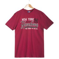 New Era - New Era - New York Yankees Kırmızı T-shirt