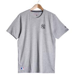 New Era - New Era - NY Gri T-shirt