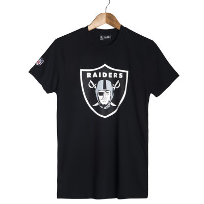 Era - Oakland Raiders Logo Siyah T-shirt