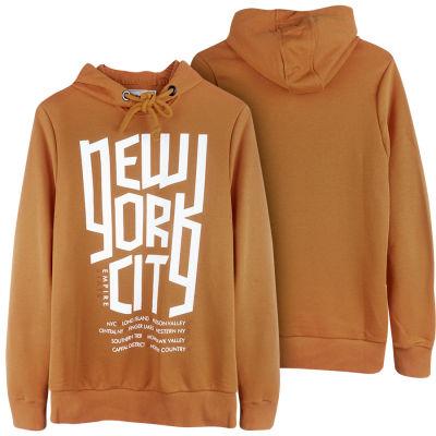 Two Bucks - New York City Kahverengi Hoodie