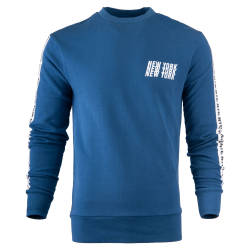 New York Mavi Sweatshirt - Thumbnail