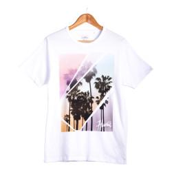 Next - Hawaii Krem T-shirt - Thumbnail