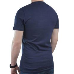 Next - Lacivert Noktalı T-shirt - Thumbnail