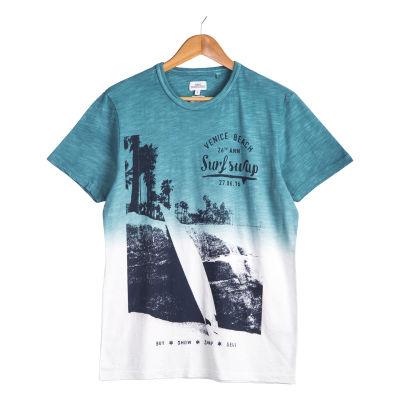 Next - Venice Beach Turkuaz T-shirt