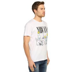 Bant Giyim - Nirvana Bleach Beyaz T-shirt - Thumbnail