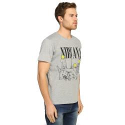 Bant Giyim - Nirvana Bleach Gri T-shirt - Thumbnail