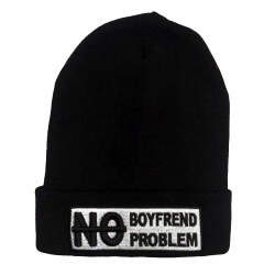 No Boyfriend No Problem Siyah Bere