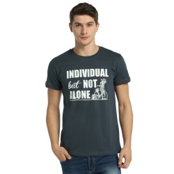 Bant Giyim - Bisiklet Not Alone Füme T-Shirt - Thumbnail