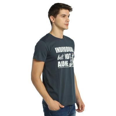 Bant Giyim - Bisiklet Not Alone Füme T-Shirt