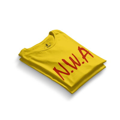 HH - N.W.A Sarı T-shirt