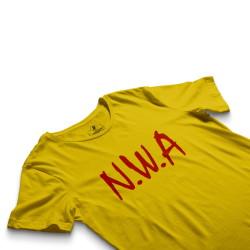 HH - N.W.A Sarı T-shirt - Thumbnail