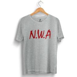 HH - N.W.A Gri T-shirt - Thumbnail
