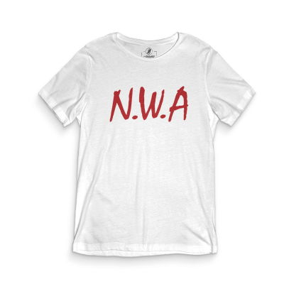 HH - N.W.A Beyaz T-shirt