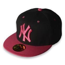 Era - Era - NY Siyah & Pembe Snapback Cap