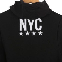 Two Bucks - NYC Siyah Hoodie - Thumbnail