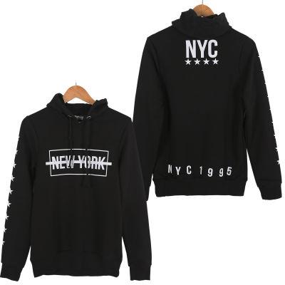 Two Bucks - NYC Siyah Hoodie