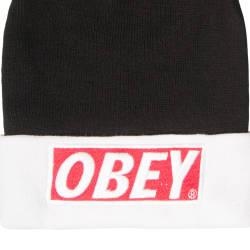 Obey Siyah & Beyaz Bere - Thumbnail