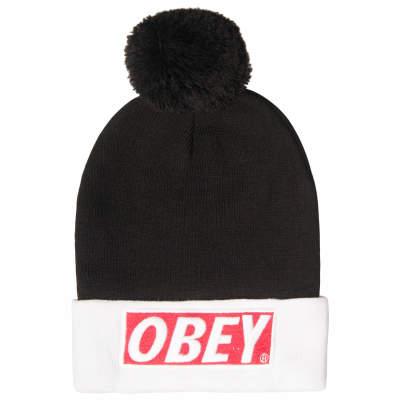 Obey Siyah & Beyaz Bere