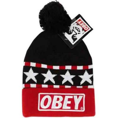 Obey Stars Siyah Bere