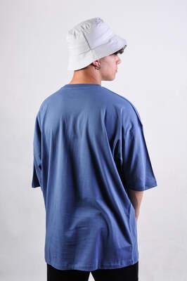 Mavi Basic Oversize Tişört