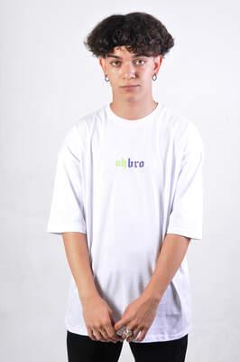 HollyHood - Ritual Beyaz Oversize Erkek Tişört