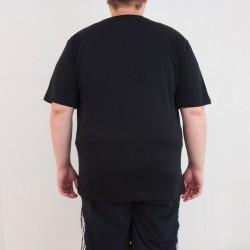 Bant Giyim - One Piece Büyük 4XL Siyah T-shirt - Thumbnail