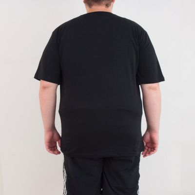 Bant Giyim - One Piece Büyük 4XL Siyah T-shirt