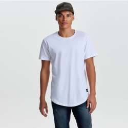 Only & Sons Basic Beyaz T-shirt - Thumbnail
