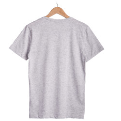 Only & Sons - Ons Land O Neck Gri T-shirt - Thumbnail