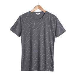 Only & Sons Ons Soul O Neck Gri T-shirt - Thumbnail