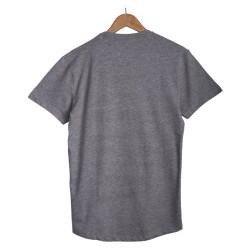 Only & Sons - Siyah Şeritli Gri T-shirt - Thumbnail
