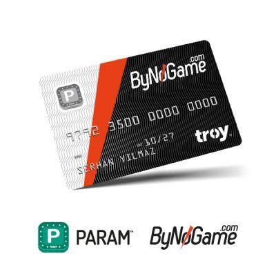Param ByNoGame 1 Adet Anonim Kart
