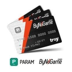 Param ByNoGame 3 Adet Anonim Kart