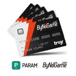 Param ByNoGame - Param ByNoGame 5 Adet Anonim Kart