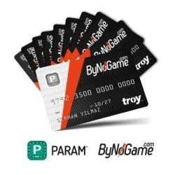 Param ByNoGame - Param ByNoGame 50 Adet Anonim Kart