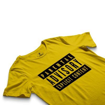 HH - Parental Advisory Sarı T-shirt