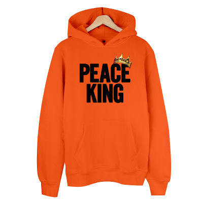 HollyHood - Peace King Turuncu Hoodie