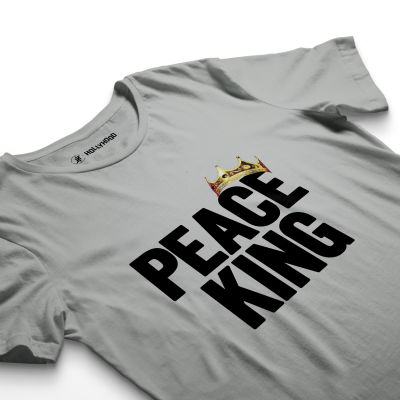 HH - Peace King Gri T-shirt