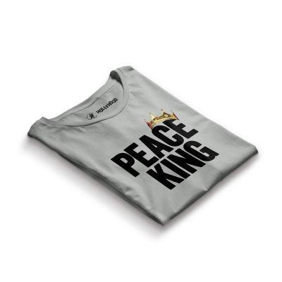 HH - Peace King Gri T-shirt