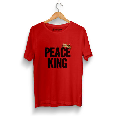 HH - Peace King Kırmızı T-shirt